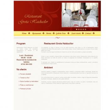 Restaurant Grota Haiducilor Baile Herculane