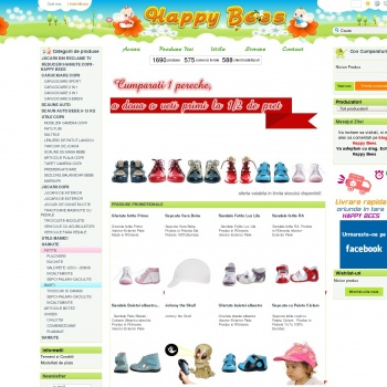 Magazin articole copii, bebelusi, carucioare copii - Happy Bees