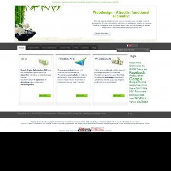 Servicii webdesign, creare site si promovare online, Harr SEO