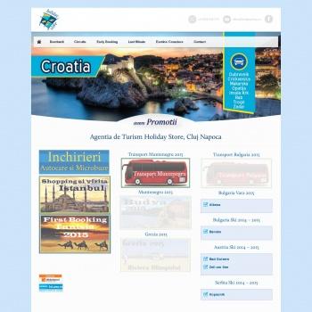 Website pentru firma SC PRODAN TOUR SRL