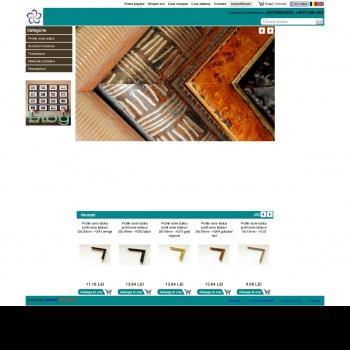 Website pentru firma SC Holzart SRL