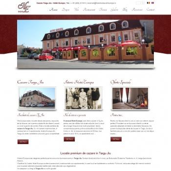 cazare hotel restaurant europa tg jiu