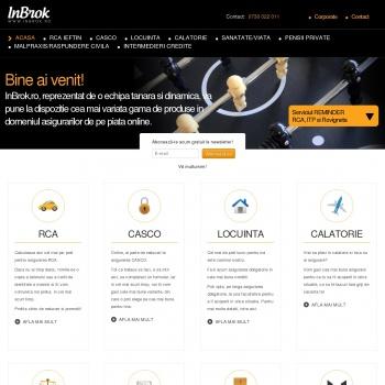 Website pentru firma SC GEORGE NEW BROKER DE ASIGURARE SRL