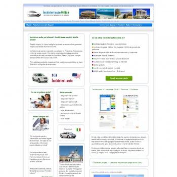 Website publicat de Inchirieriauto staff