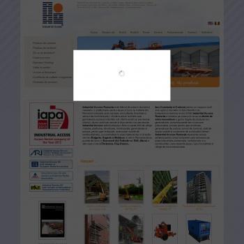 Website pentru firma INDUATRIAL ACCESS SA
