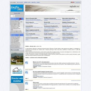 Director web Infodir - linkuri utile gratuit