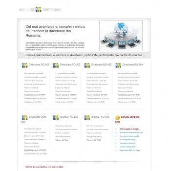 Inscriere in directoare web- Inscriere manuala in directoare web