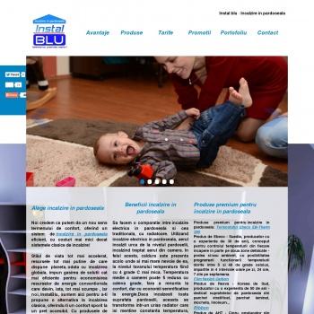 Website publicat de Bogdan Lungu