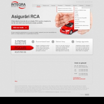 INTEGRA - Broker de asigurare Iasi | Rca, Casco, Locuinte, Malpr