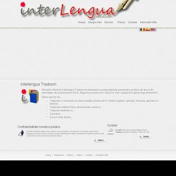 Website pentru firma APOSTOLU  CAMELIA - TRADUCATOR SI INTERPRET