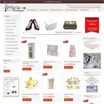 Website pentru firma I. I. Mutulescu Georgiana Alina