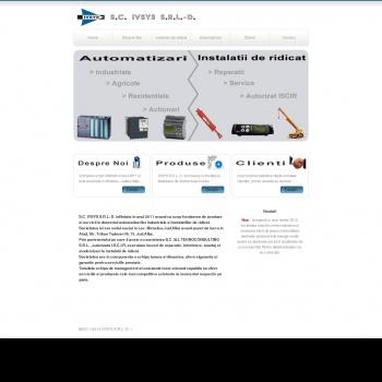 Website pentru firma SC IVSYS SRL-D