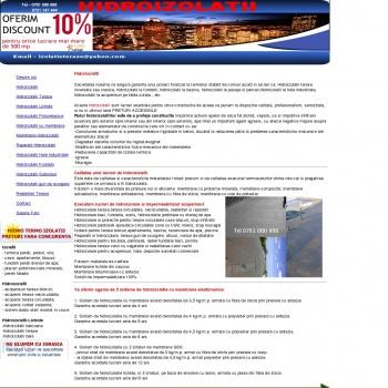 Website pentru firma Sc.izoflo.grup