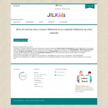Website pentru firma Jilkids