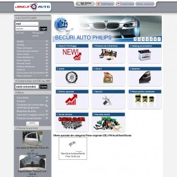 Piese Auto online pentru masina ta www.jinga.ro