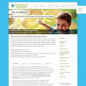 Website pentru firma Kronstadt Energii Regenerabile