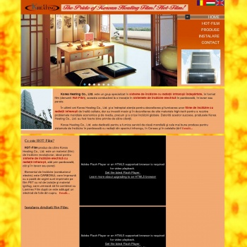 Website pentru firma SC Far Infra SRL