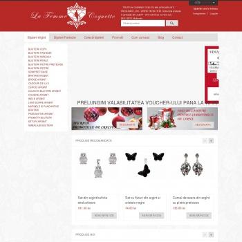 Website pentru firma ALIGAS CONSULT SRL