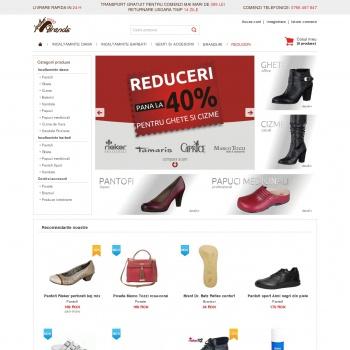 Website pentru firma S.C. Romind Serv