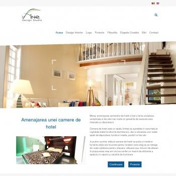 Website pentru firma Fine Design Studio