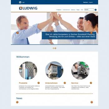 Website pentru firma Ludwig Geosynthetics SRL