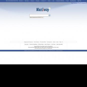 Website pentru firma Macoway SRL
