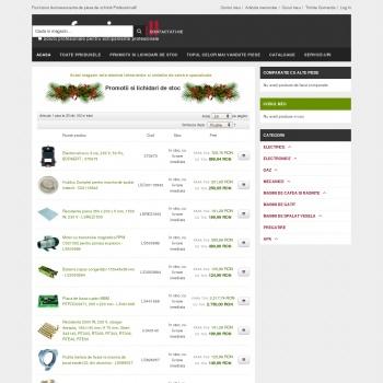 Website pentru firma S.C. Furnizor Professionall S.R.L.