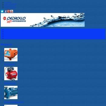 Website pentru firma Pedrollo