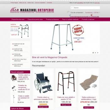 Website pentru firma Selenium Distribution SRL