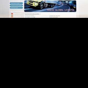 Website pentru firma Maksi Global Lojistik