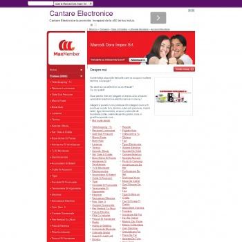 Website pentru firma SC Marco&Dora impex SRL