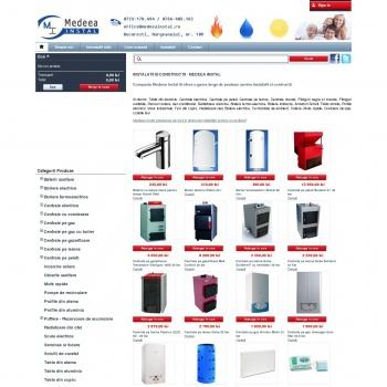 Website pentru firma Medeea Instal