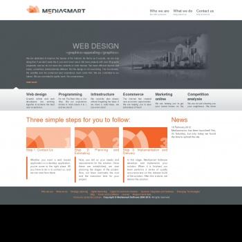 Website pentru firma MEDIASMART SOFTWARE SRL