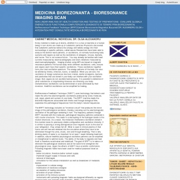 Cabinet biorezonanta magnetica bucuresti dr. Alexandru Olga
