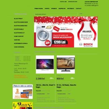Website pentru firma SC MELAROX COM SRL