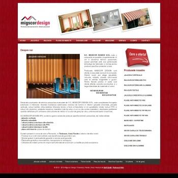 Migscor Design Timisoara Arad Resita Jaluzele, Rulouri, Plase de