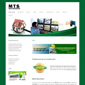 Website pentru firma S.C. MOLID TEHNIC SERVICE S.R L