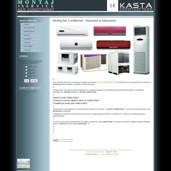 kasta construct ofera servicii de montaj si service al aerului c