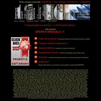 Website pentru firma MARMII