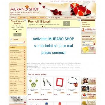 Bijuterii de calitate din sticla de Murano