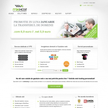 Website pentru firma Net Design SRL