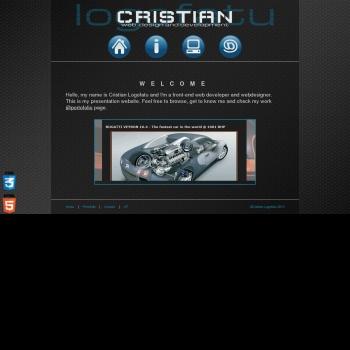 Logofatu Cristian - web designer, graphic designer, freelancer