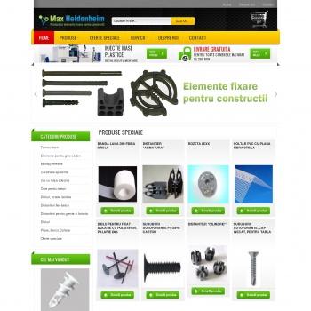 Website pentru firma NICA PROD. CONSTRUCT 95 srl