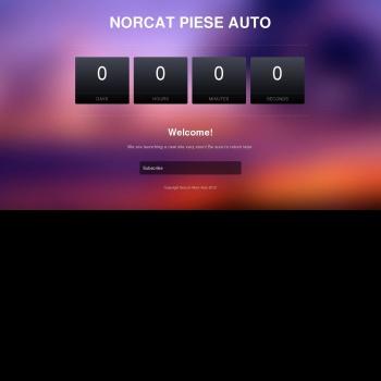 Website pentru firma SC Norcat Impex SRL