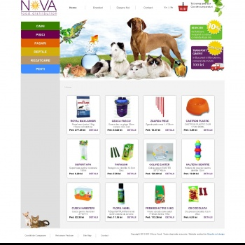 Nova Food- Pet Sho online, preturi competitive