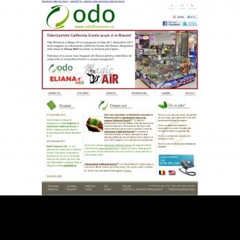 Website pentru firma SC ODO IMPORT TRADING SRL