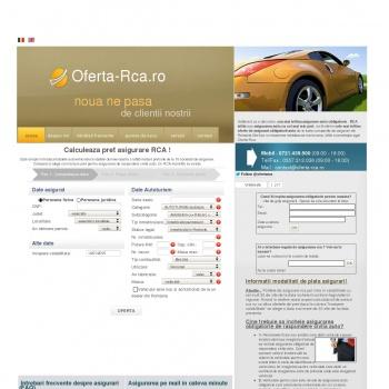 Website pentru firma Sc Sofad Broker de Asigurare Srl