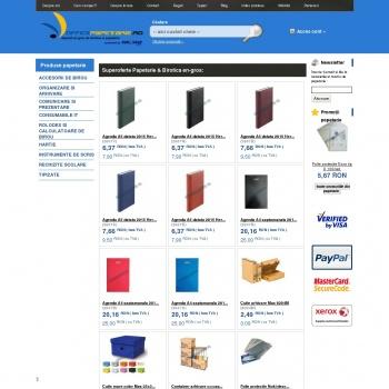 Website pentru firma Eurogrup Office S.R.L