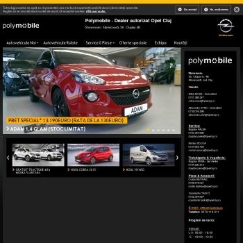 Website pentru firma S.C Polymobile S.R.L