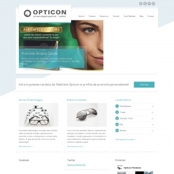 OPTICON - Optica medicala si consultatii oftalmologice in Cluj